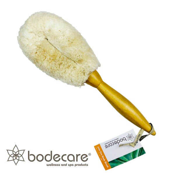 Jute Dry Body Brush - Click to enlarge picture.