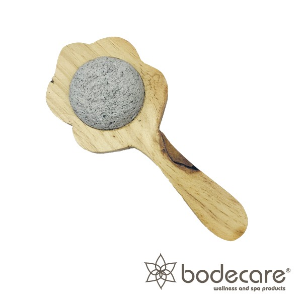Pumice Spa Brush (Compact) - Click to enlarge picture.