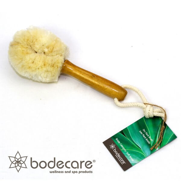 Jute Dry Face Brush - Click to enlarge picture.